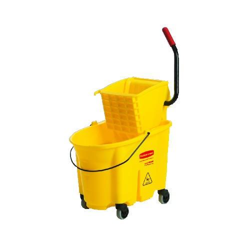 Wavebrake Sideward Pressure Mop Combo, 35 Quart, Yellow [ rcp 7580-88 yel ]