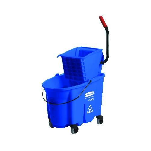 Wavebrake Sideward Pressure Mop Combo, 35 Quart, 20.1 X 15.75 X 36.5, Blue