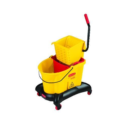 Wavebrake Sideward Pressure Mop Combo, 35 Quart, Yellow [ rcp 7680 yel ]