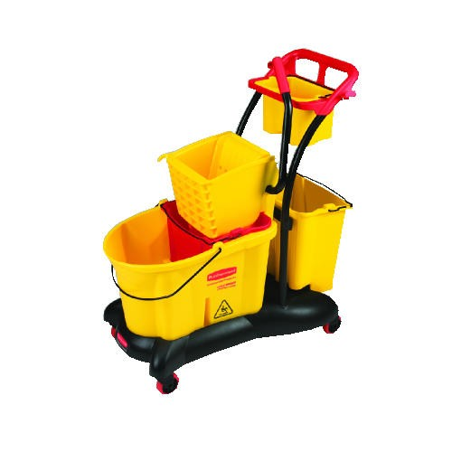 Wavebrake Sideward Pressure Mop Troll, 35 Quart, Yellow