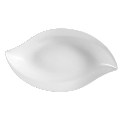 CAC China COL-W41 Wavy Porcelain Bowl 36 oz.