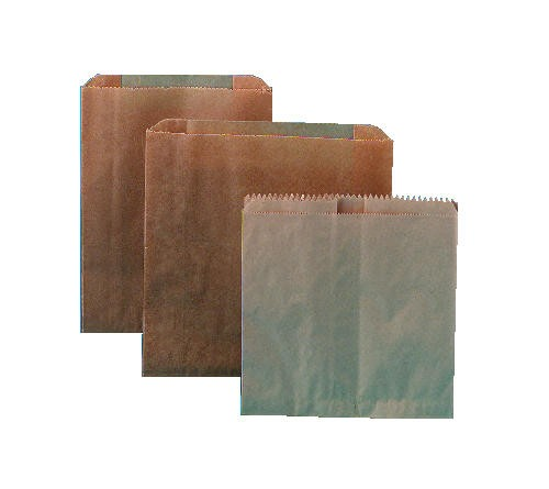 Waxed Paper Receptacle Liners 8 x 7 x 8