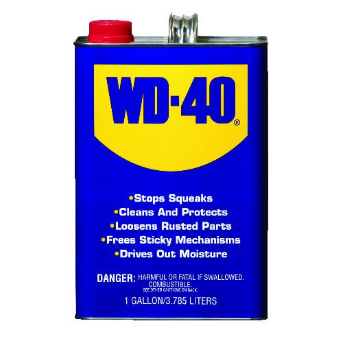 Wd-40 Lubricant, Gallon Size Can