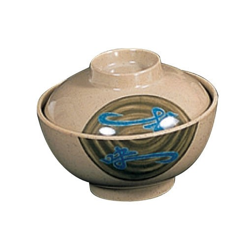 Thunder Group 3506J Wei Melamine Special Bowl with Lid 10 oz.