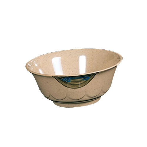 Wei Melamine 20 Oz. Scallop Edge Bowl - 6-1/5