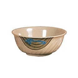 Thunder Group 5307J Wei Melamine Swirl Bowl 32 oz.