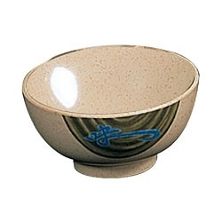 Thunder Group 5207J Wei Melamine Rice Bowl 39 oz.