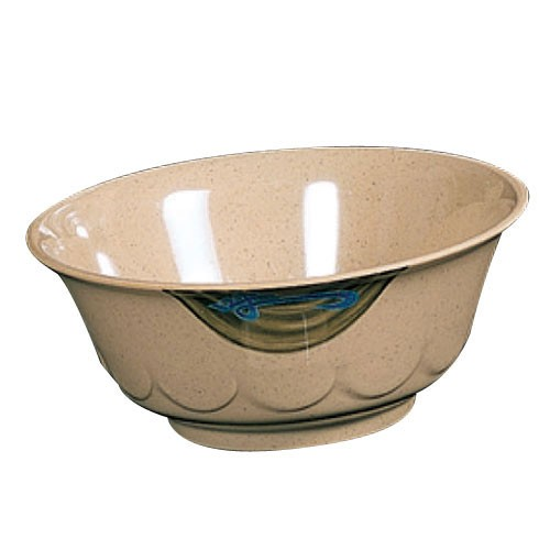 Wei Melamine 47 Oz. Scallop Edge Bowl - 8