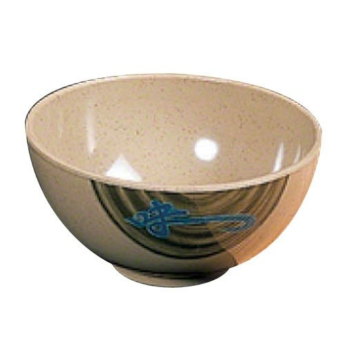 "Thunder Group 3006J Wei Melamine Rice Bowl 8 oz., 4-3/8"" Dia."