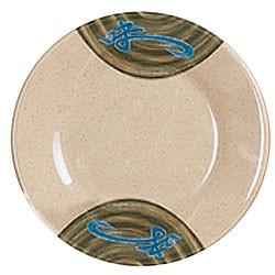 Wei Melamine Round Plate - 10-3/8