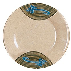 Wei Melamine Round Plate - 14-1/8