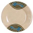 Wei Melamine Round Plate - 6-1/5