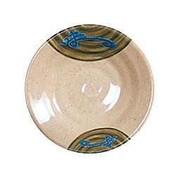 """Thunder Group 1350J Wei Round Melamine Soup Plate 5-1/8"""""""