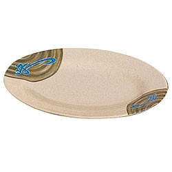 "Thunder Group 2012J Wei Oval Melamine Platter, 12"" x 8-5/8"""