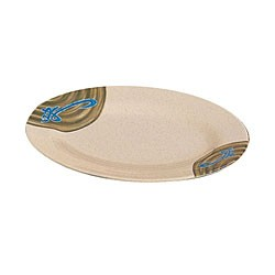 "Thunder Group 2010J Wei Oval Melamine Platter, 9-7/8"" x 7-1/4"""