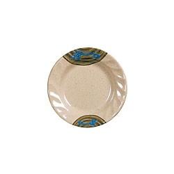 Wei Round Curved Rim Melamine Plate - 6