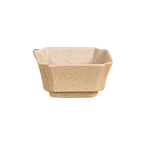 Thunder Group 1002J Wei Square Melamine 4 oz. Side Dish 3-1/8""