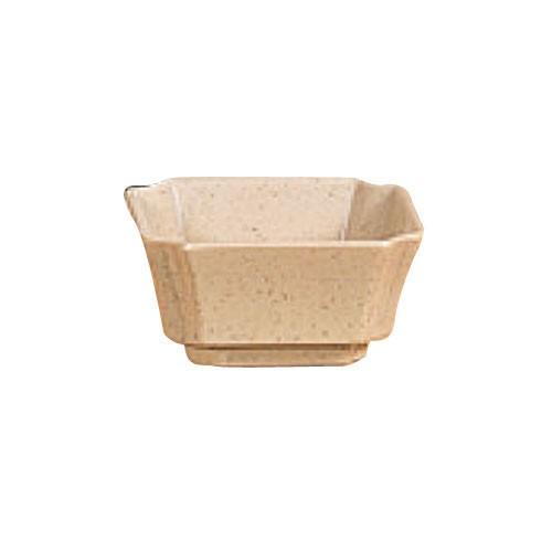 Wei Square Melamine 4 Oz. Side Dish - 3-1/8