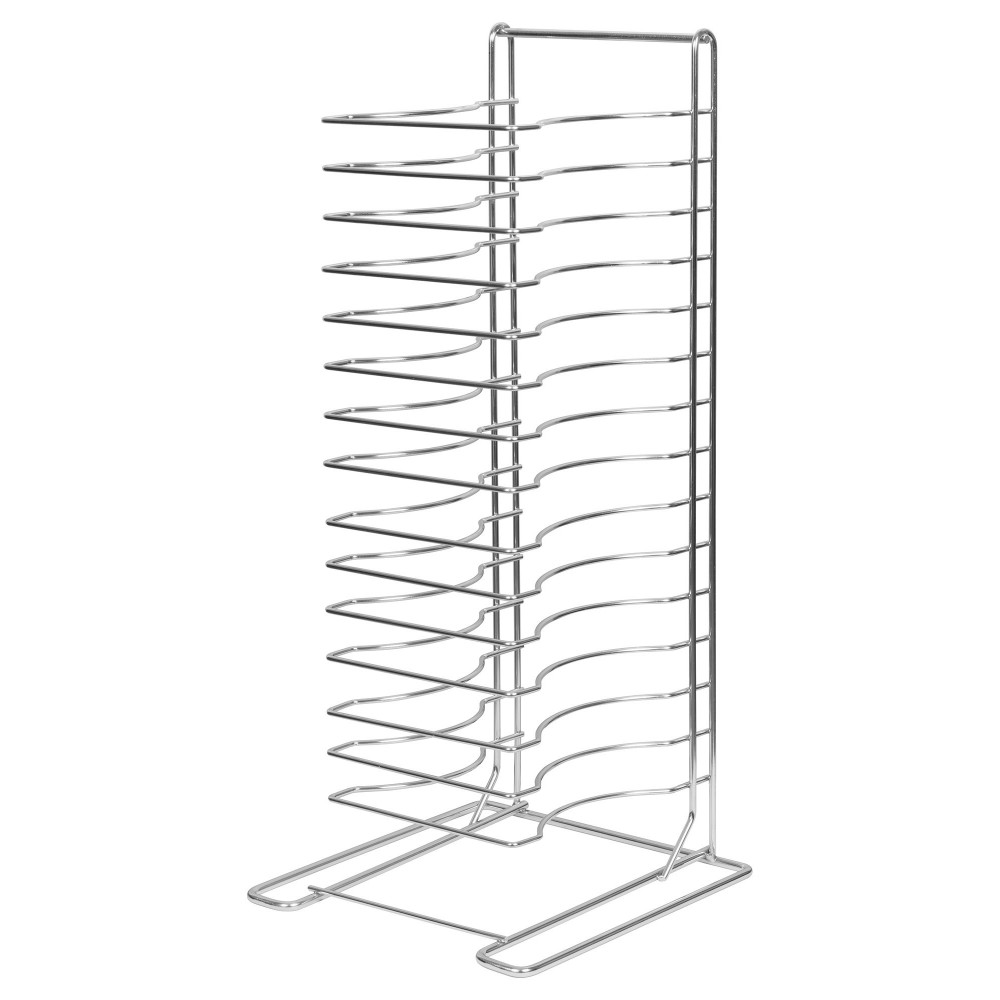 Welded 15-Slot Pizza Tray Rack