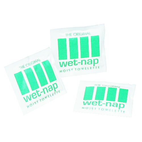 Wet-Nap Individually Wrapped Premoistened Towelettes Packets
