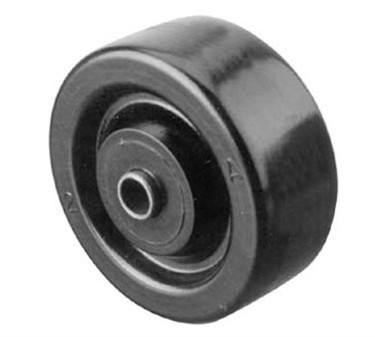 Wheel (3, 3/8Id, W/Bushing, Blk )