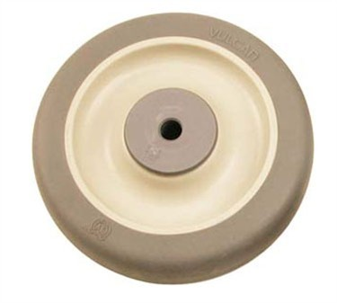 Franklin Machine Products  120-1032 Wheel (3-1/2, 3/8Id, with Bsh, Gry )