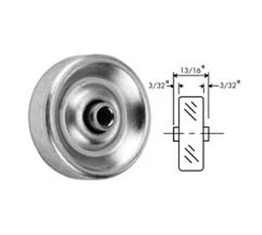 Franklin Machine Products  132-1054 Wheel, Skate (1-15/16Od, 1/4Id )