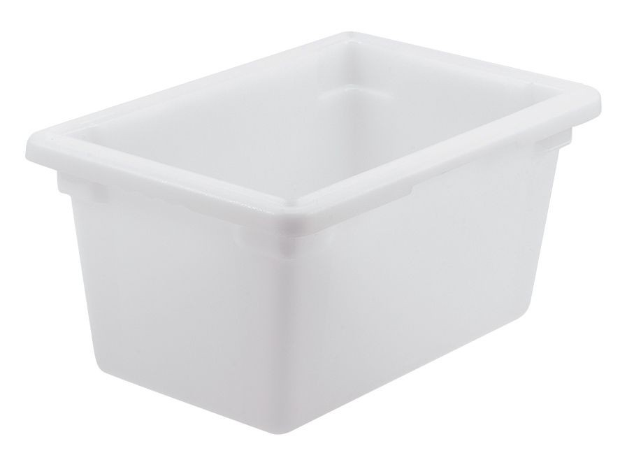 "Winco PFHW-9 White 18"" x 12"" x 9"" Food Storage Box"