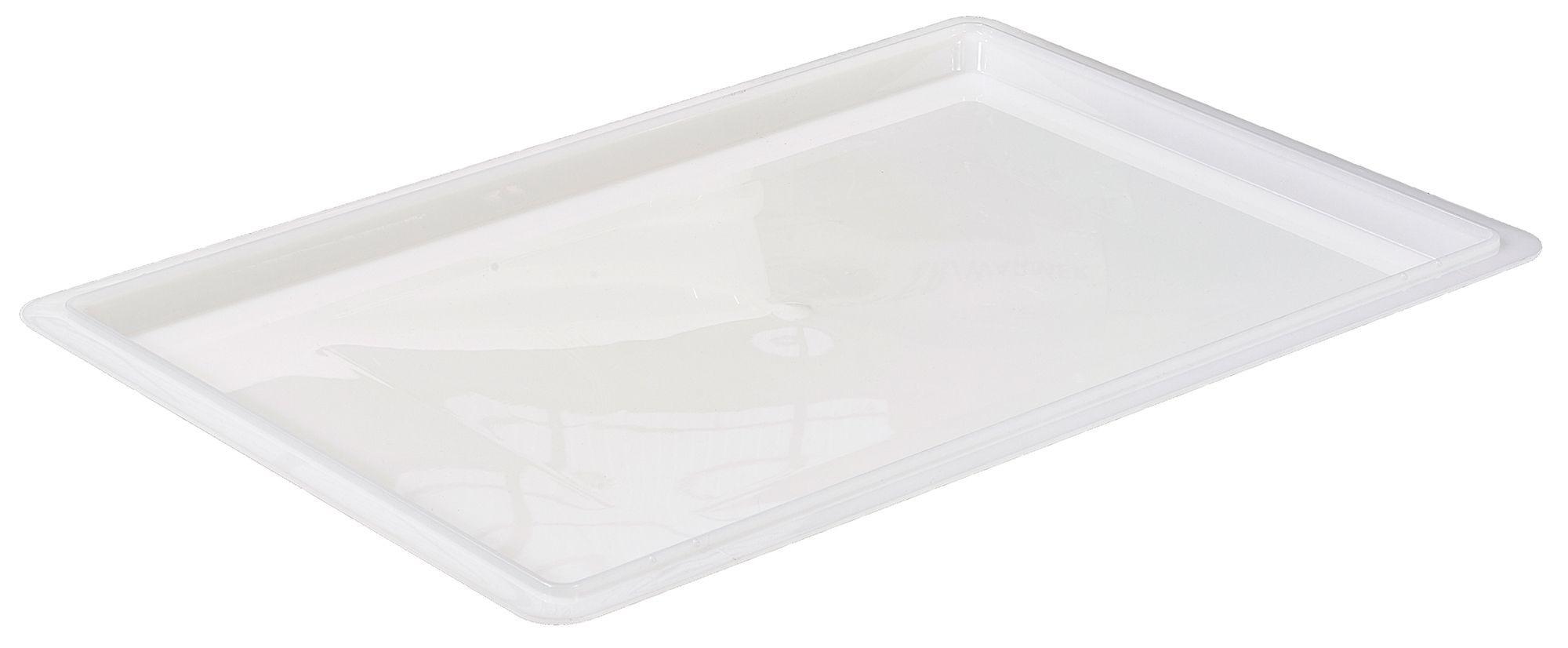 "Winco PFFW-C White 18"" x 26"" Food Storage Box Cover"