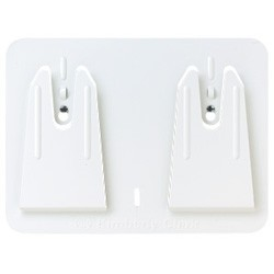 White Access Wall-Mountwiper Dispenser
