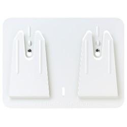 White Access Wall-Mountwiper Dispenser