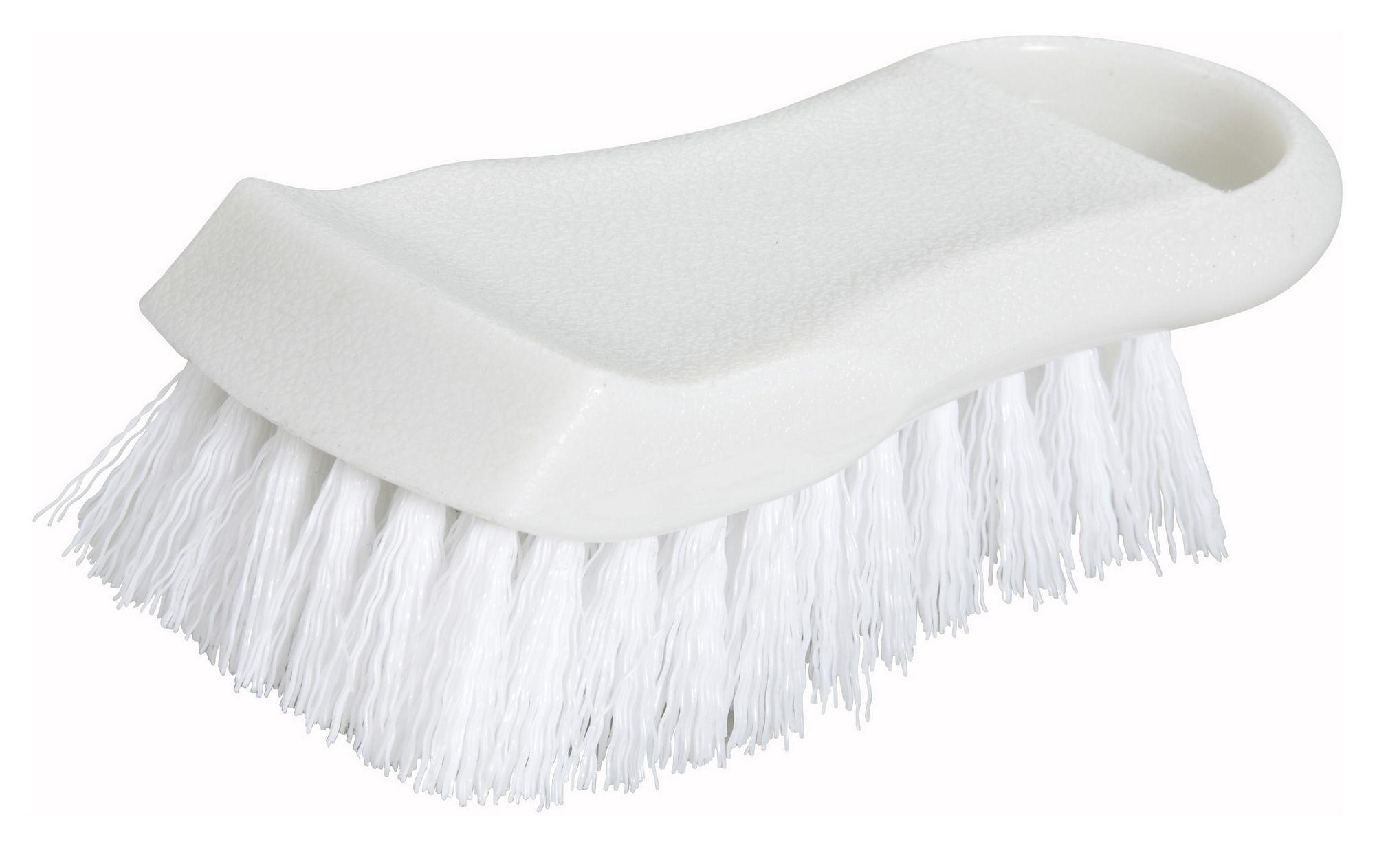 Winco CBR-WT White Cutting Board Brush