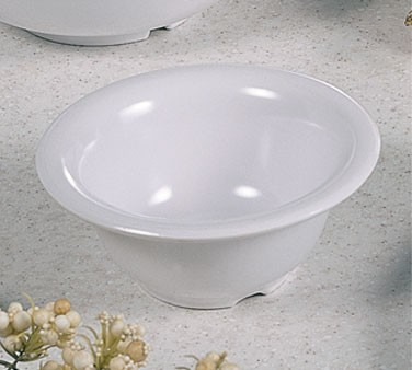 White Melamine 10 Oz. Soup Bowl - 5-3/8
