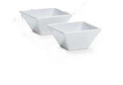 G.E.T. Enterprises ML-279-W Siciliano White 23 oz. Square Bowl, 6""