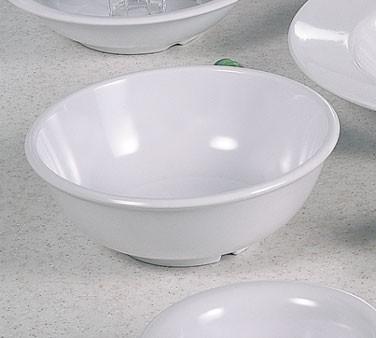 """Thunder Group CR5807W White Melamine 24 oz. Salad Bowl 7-1/2"""""""