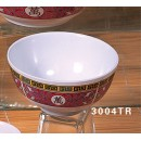 White Melamine 5 Oz. Rice Bowl - 3-3/8