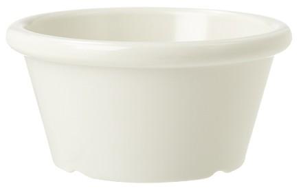 White Melamine 6 oz., 3.75