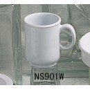 White Melamine 8 Oz. Mug With Handle NSF