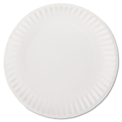 White Paper Plates, 9