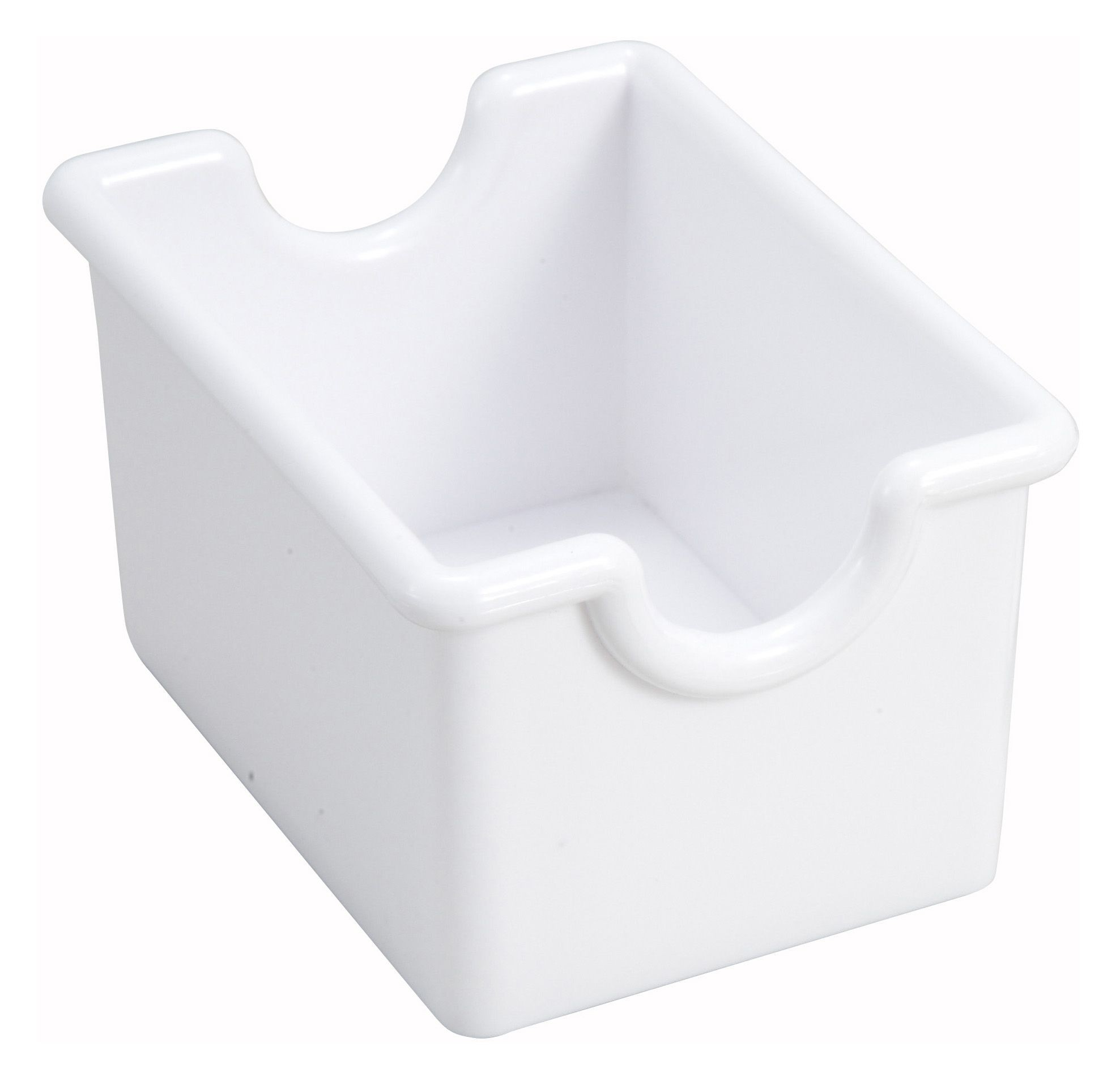 Winco PPH-1W White Plastic Sugar Packet Holder
