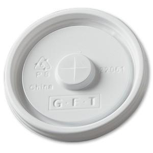G.E.T. Enterprises LID-22061-W White Disposable Lid for 2206