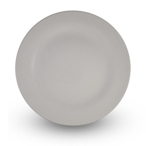 White Porcelain Dinner Plate, 10.5