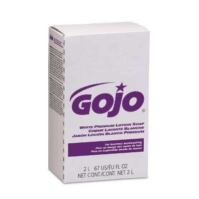 White Premium Lotion Soap, Spring Rain Scent, 2000 mL Refill 4/Carton