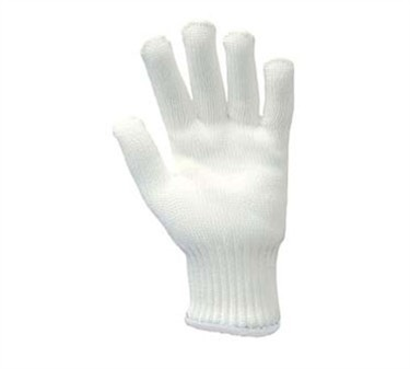 White Wrist Band Bacfighter3 Large Safety Glove