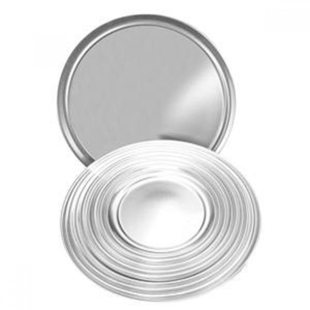 Wide-Rimmed Aluminum Pizza Pan - 16