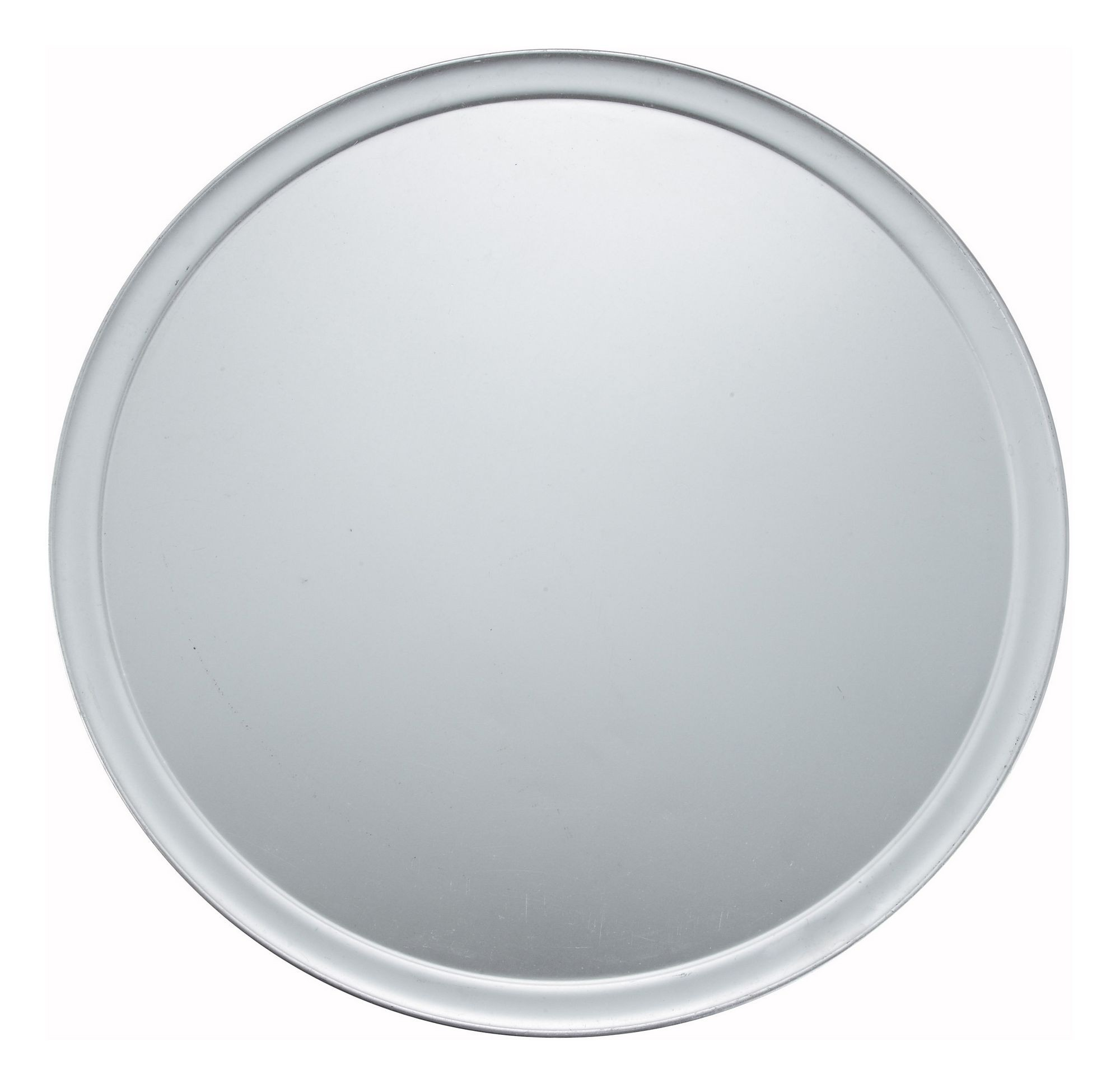 Wide-Rimmed Aluminum Pizza Pan - 18