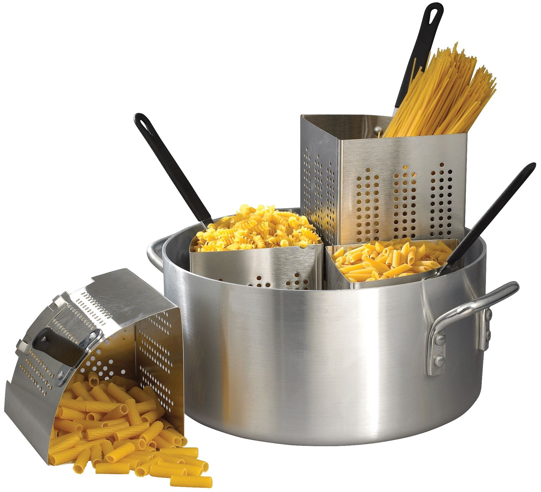 Winco APS-20 Aluminum Pasta Cooker 20 Qt.