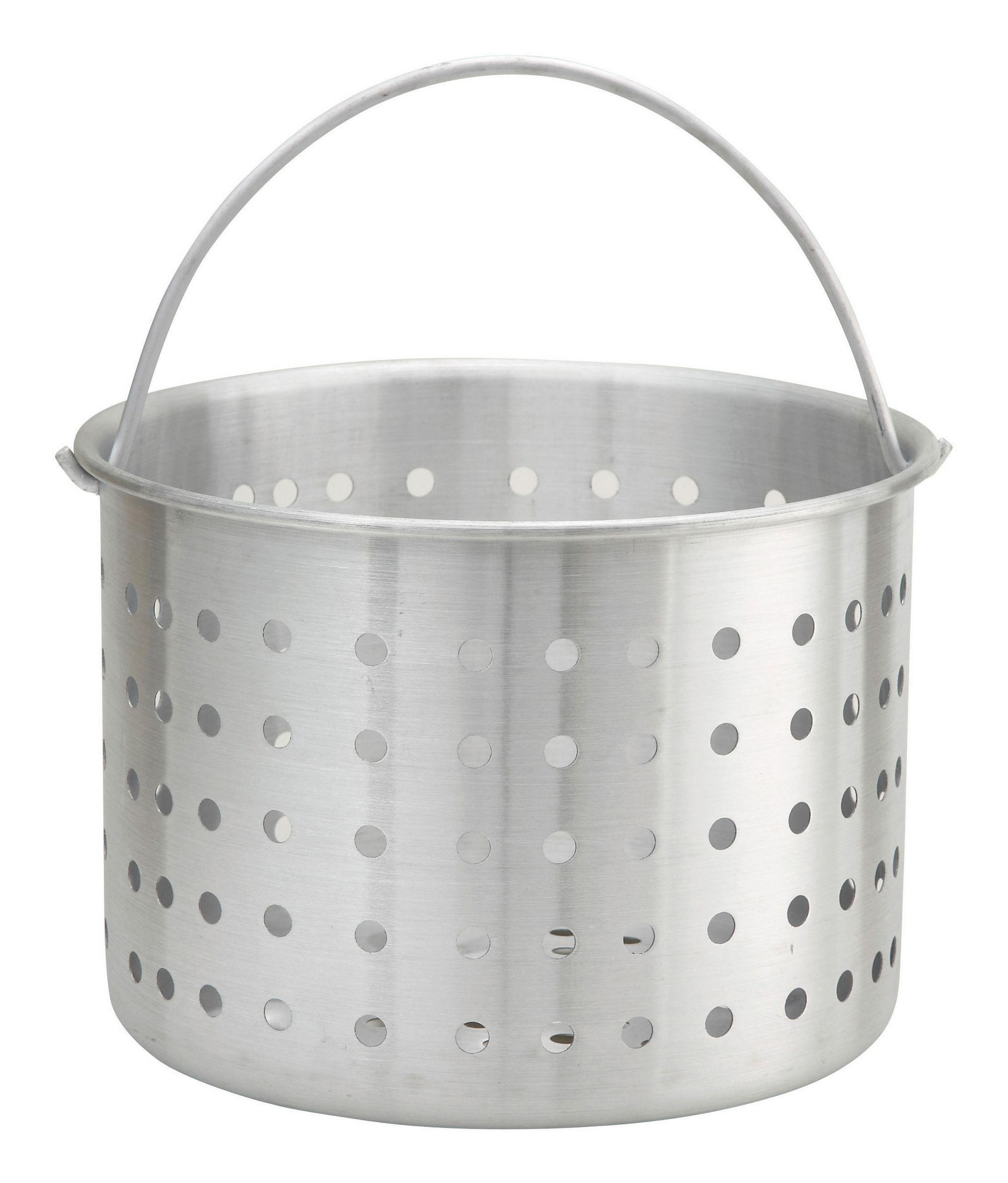 Winco ALSB-40 Aluminum Steamer Basket 40 Qt.