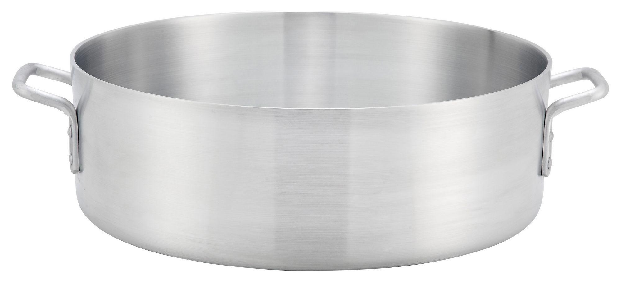 Win-Ware Reinforced-Rim 40-Quart 4.0 mm Aluminum Brazier