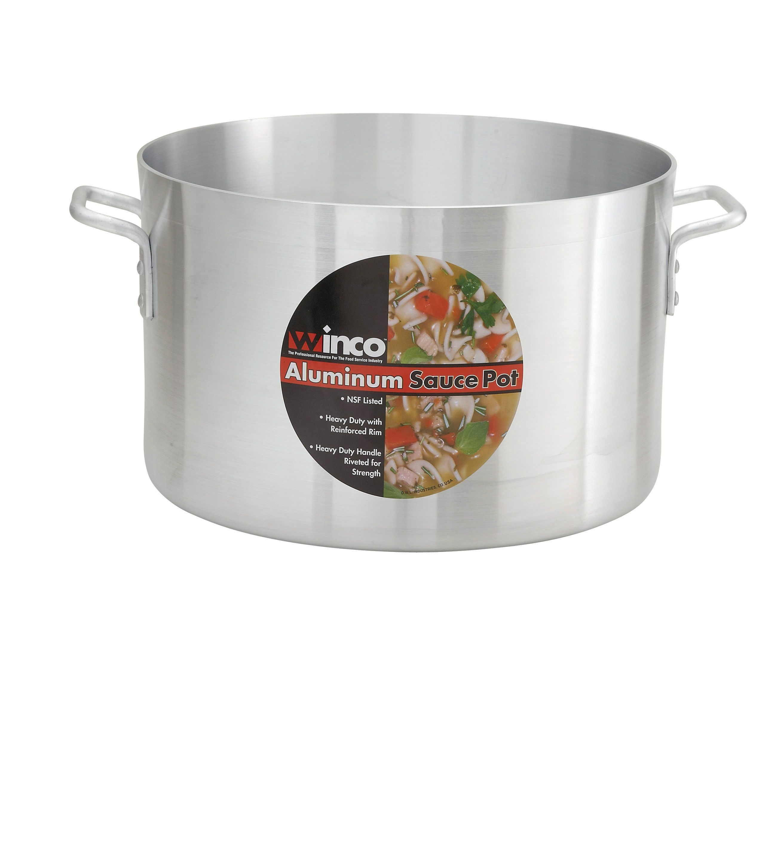 Super Aluminum 34-Qt Sauce Pot (4.00 mm)